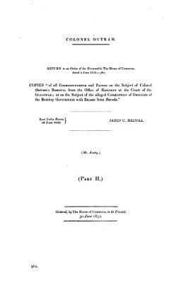 Colonel Outram PDF