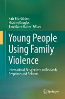 Young People Using Family Violence PDF