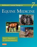 Robinson s Current Therapy in Equine Medicine   E Book PDF