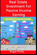 Real Estate Investment For Passive Income Earning
