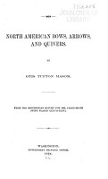 North American Bows  Arrows  and Quivers PDF