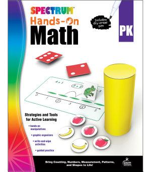 Spectrum Hands On Math   Grade PK PDF