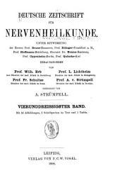 Deutsche Zeitschrift für Nervenheilkunde: Band 34
