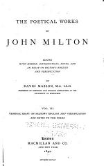 General essay on Milton's English and versification and notes to the poems
