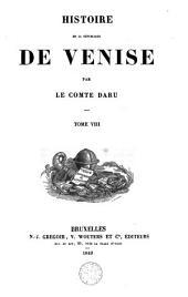 Histoire de la république de Venise: Volume8
