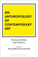 An Anthropology of Contemporary Art PDF