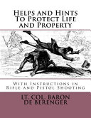 Helps and Hints to Protect Life and Property