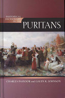 Historical Dictionary of the Puritans PDF