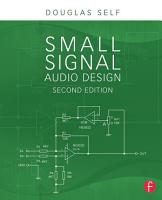 Small Signal Audio Design PDF