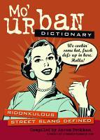 Mo  Urban Dictionary PDF