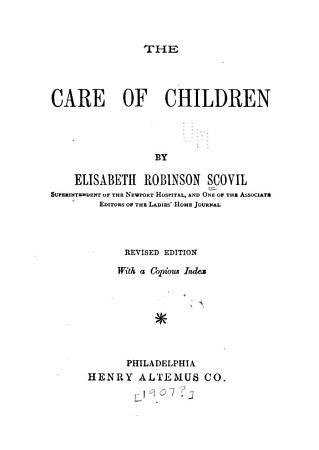 The Care of Children PDF