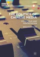 The Politics of Chinese Media PDF
