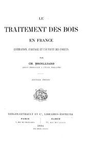 Le traitement des bois en France à l'usage ces particuliers
