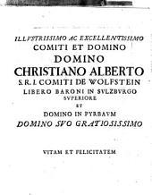 Historia genealogica Dominorum et Comitum de Wolffstein L. Baron in Salzburg