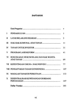 Masalah tanah di Indonesia dari masa ke masa PDF
