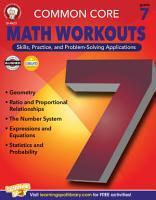 Common Core Math Workouts  Grade 7 PDF