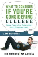 What To Consider if You re Considering College     The Big Picture PDF