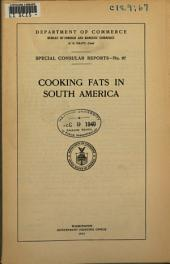 Cooking Fats in South America