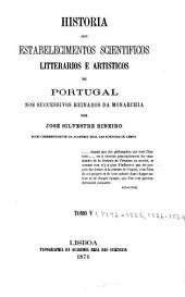 Historia dos estabelecimentos scientificos: Volumi 5-6