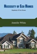 Necessity of Eco Homes PDF