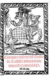 Cronica del rey dõ Pedro de Castilla