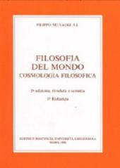 Filosofia del mondo: cosmologia filosofica