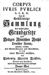 Corpus Iuris publici S. J. R. G.