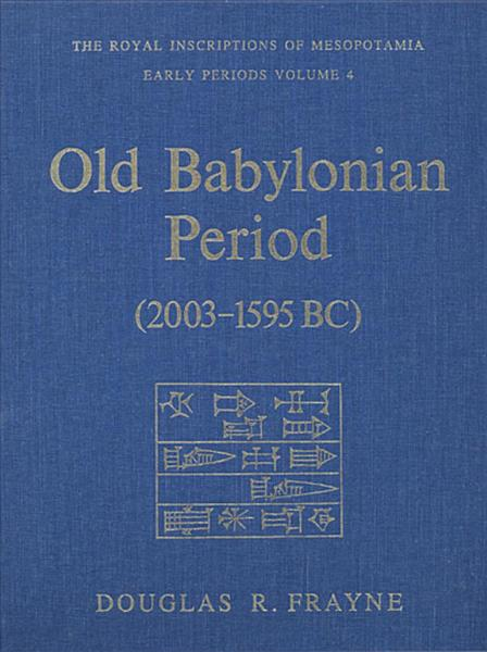 Download Old Babylonian Period  2003 1595 BC  Book