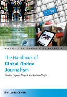 The Handbook of Global Online Journalism PDF