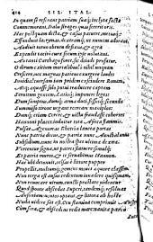 Silii Italici, poetae clarissimi De Bello Punico libri septemdecim