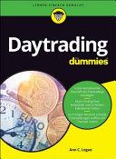 Daytrading f  r Dummies PDF