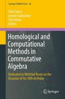 Homological and Computational Methods in Commutative Algebra PDF