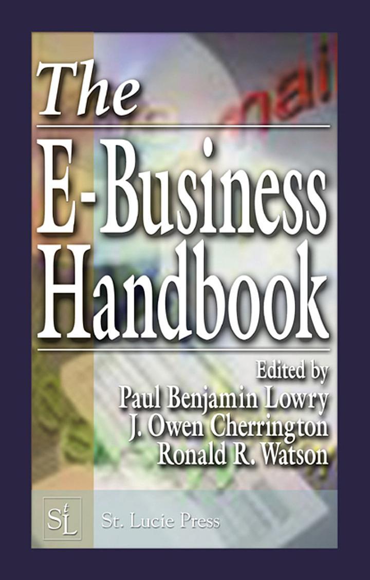 The E-Business Handbook