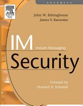 IM Instant Messaging Security