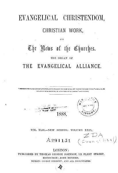 Download Evangelical Christendom Book