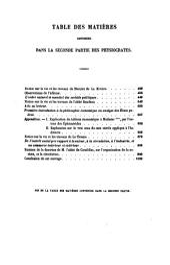 Physiocrates: 2. partie