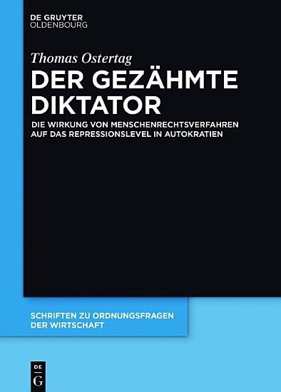 Der gez  hmte Diktator PDF