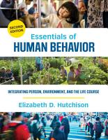 Essentials of Human Behavior PDF