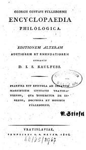 Encyclopaedia philologica ...