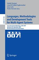 Languages  Methodologies and Development Tools for Multi Agent Systems PDF