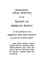 Annual Exhibition: Volume 17