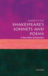Shakespeare s Sonnets and Poems  a Very Short Introduction PDF