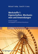 Werkstoffe 1  Eigenschaften  Mechanismen und Anwendungen PDF
