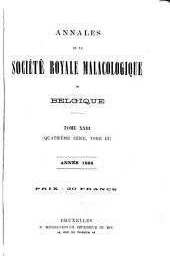 Annalen van de Koninklijke Belgische Vereniging voor Dierkunde