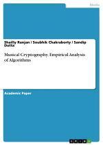 Musical Cryptography. Empirical Analysis of Algorithms