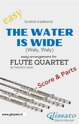 The Water Is Wide Easy Flute Quartet Score Parts  Book PDF