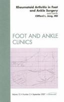 Rheumatoid Arthritis in Foot and Ankle Surgery