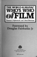 The World Almanac Who s who of Film PDF