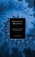 Feelings of Believing PDF