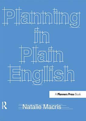 Planning in Plain English